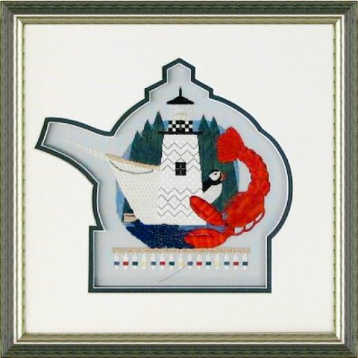 Frame your Needlework with a custom cut matte.