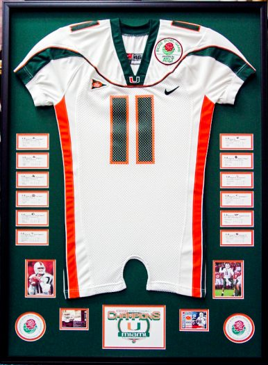 Frame your Jerseys