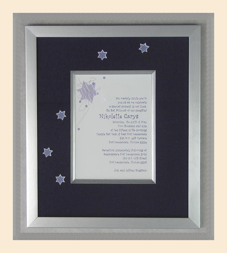 Frame your cherished memories.