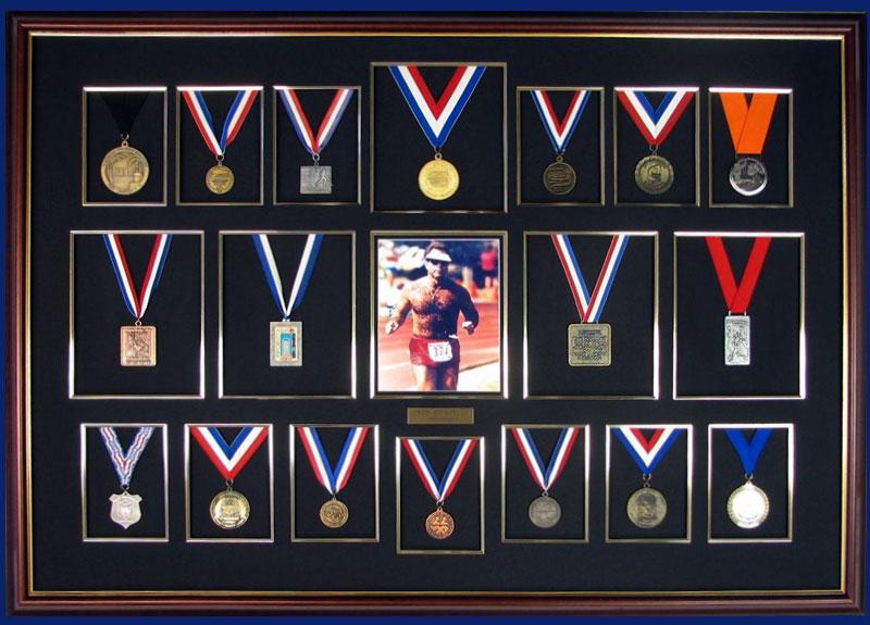 Frame your medals.